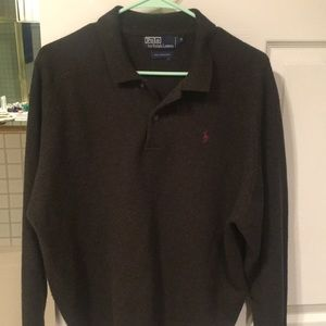 Polo by Ralph Lauren green  lambs wool sweater